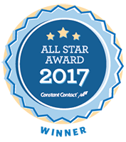 All Star Award 2017 from Constant Contact